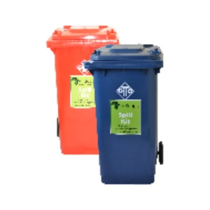 Various Recycling Bins