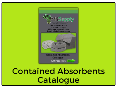 Contained Absorbents Catalogue