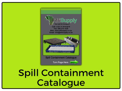 Spill Containment Catalogue