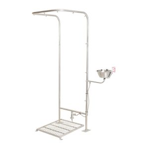 Emergency Shower Double Column Foot Operated
