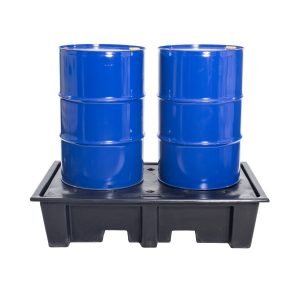 Polyethylene 2 Drum Spill Deck