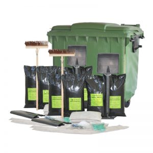1000l Oil Wheelie Bin Spill Kit